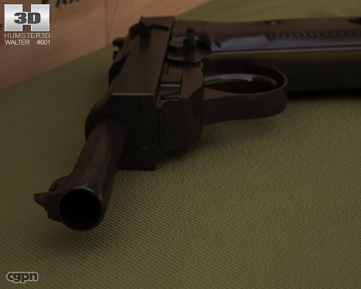 walther p38 3d 3ds