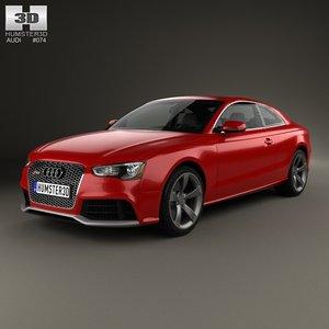 3d audi rs5 interior model