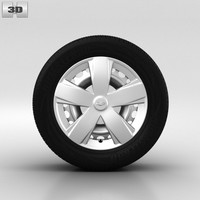 chevrolet wheel 3d model