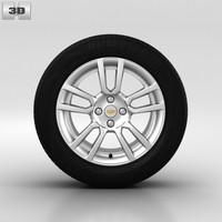 3d chevrolet wheel model