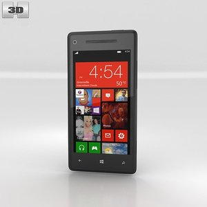 htc 8x windows 3d model