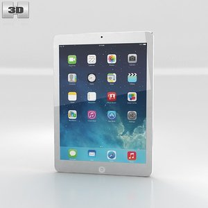 3d apple ipad air