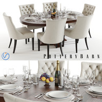 max pottery barn banks table