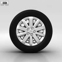 3d model wheel chevrolet