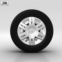 wheel chevrolet 3d model