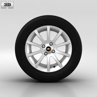 chevrolet wheel 3ds