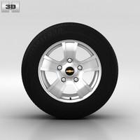 chevrolet wheel 3d 3ds