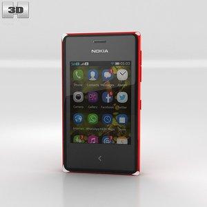 3d asha nokia 500 model