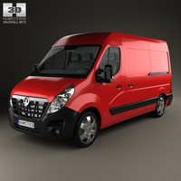 vauxhall movano panel 3ds