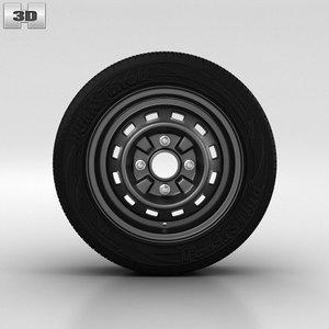 daewoo wheel 3d 3ds