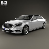 Mercedes-Benz S-Class (W222) with HQ interior 2014