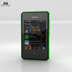 3d model nokia asha 503