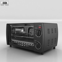 toaster oven westinghouse 3d model