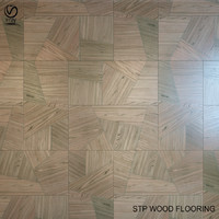 stp wood flooring wooddesign 3d model