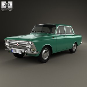 3ds azlk moskvitch 408