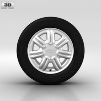3d daewoo wheel