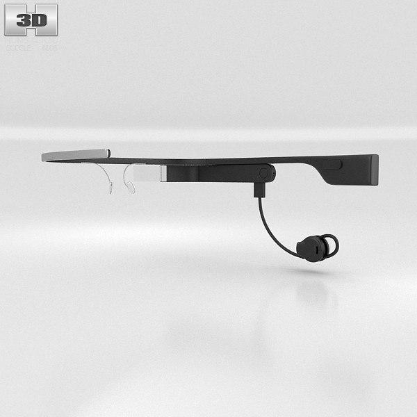 3d max earbud google glass
