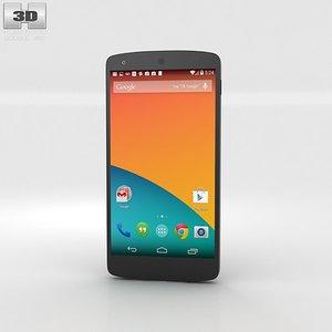 google nexus 5 3d max