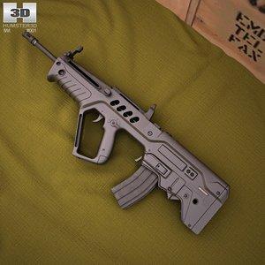 3d model imi tavor tar-21