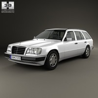 3d benz mercedes e-class model