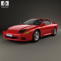 3d model mitsubishi 3000gt 3000