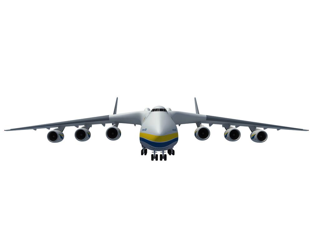 antonov an-225 mriya 3d model
