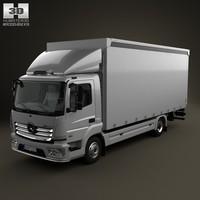 box mercedes atego 3d model