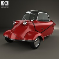 3d model messerschmitt kr200