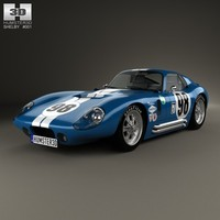 cobra shelby daytona c4d