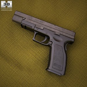 hs2000 springfield armory 3d 3ds