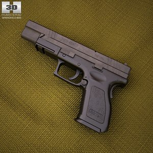3d hs2000 springfield armory model