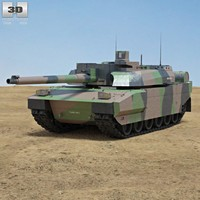 3d amx-56 leclerc model