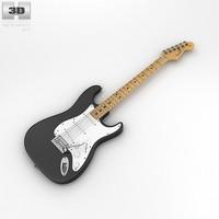 3d model fender stratocaster