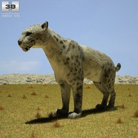 3d homotherium model
