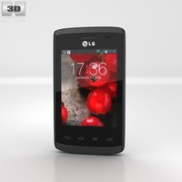 3d model of e410 lg optimus