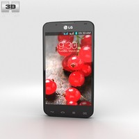 lg optimus l7 3d model