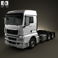 3d man tgx tractor