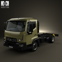 3d model chassis d renault