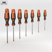3d screwdriver set screw