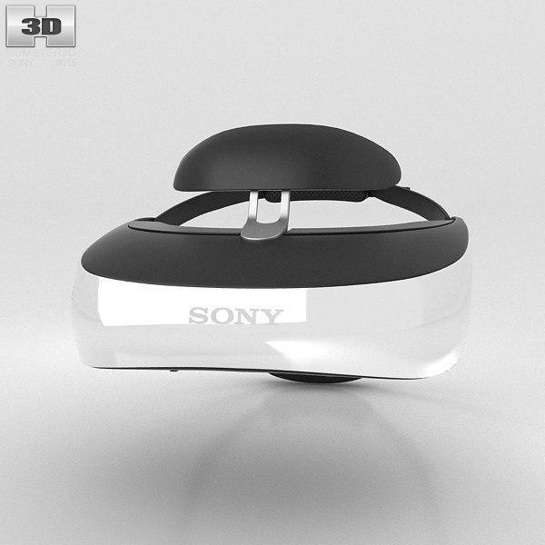 3d model sony hmz-t3
