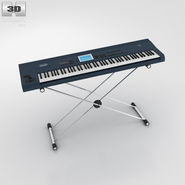 synth synthesizer 3d max