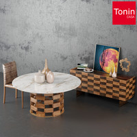 Dining room set (Tonin Casa)