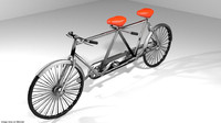 3ds bicycle cruiser cycle