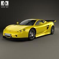 ascari a10 10 3d model