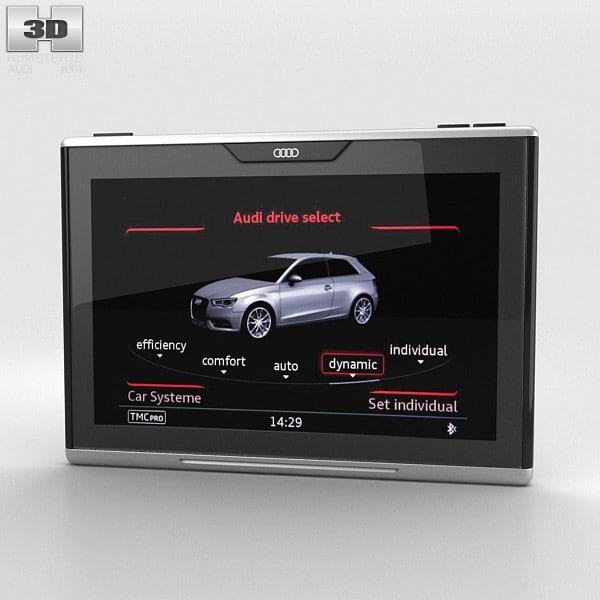 3d audi smart display model