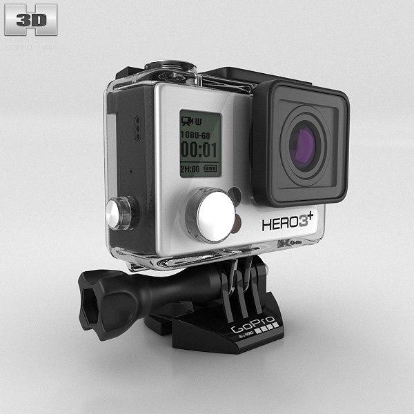 3d gopro hero3 model