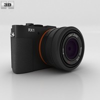 3d model of parts dsc-rx1 sony