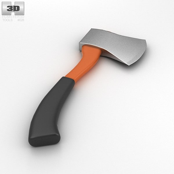 3d max camping axe