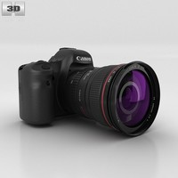 3d model canon eos
