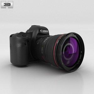 3d model canon eos